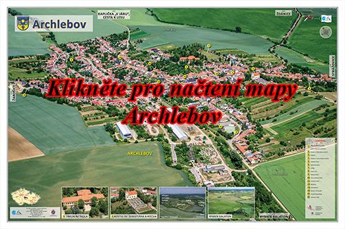 Interaktivní fotomapa Archlebov