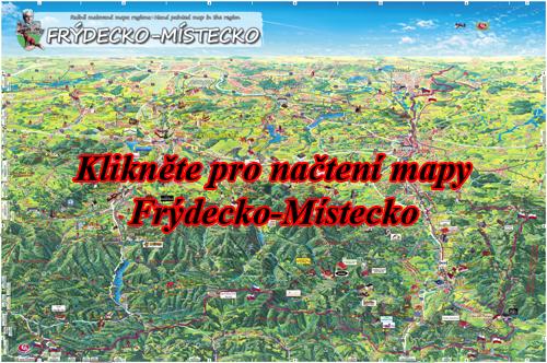Interaktivní malovaná mapa Frýdecko-Místecko
