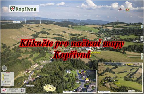Interaktivní fotomapa Kopřivna