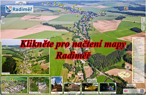 Interaktivní fotomapa Radiměř