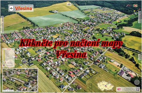 Interaktivní fotomapa Vřesina