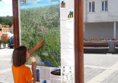 Malovaná mapa v Oslavanech