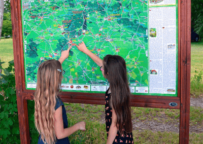 Malovaná mapa Taxis Bohemia