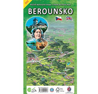 Malovaná mapa Berounsko
