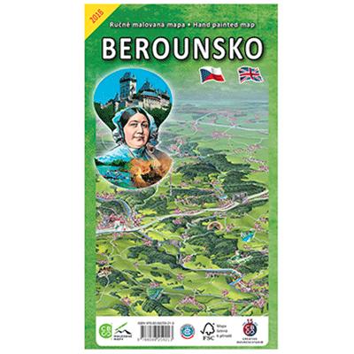 Malovaná mapa Berounska