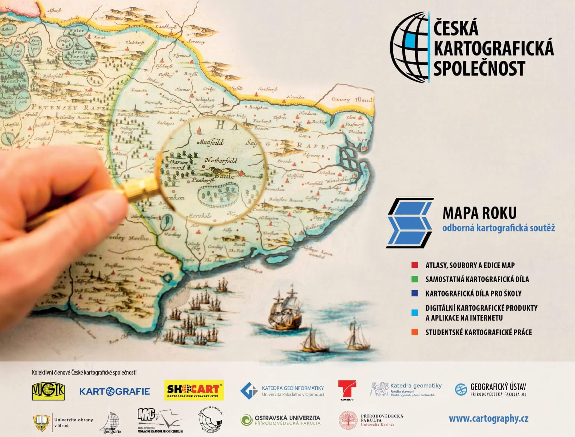 Kartografická soutěž Mapa roku