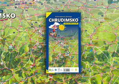 Vyšla nová malovaná cyklomapa Chrudimsko dětem