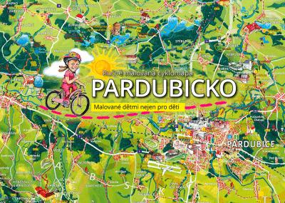 Připravujeme malovanou cyklomapu Pardubicko dětem