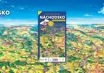 NOVINKA – malovaná cyklomapa Náchodsko