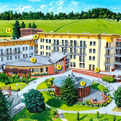 Areál Domova seniorů Prachatice
