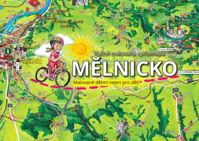 I děti z Mělnicka budou malovat svou cyklomapu