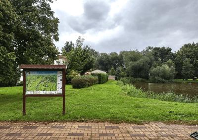 Malovaná mapa - obec Nedomice