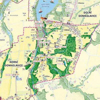 Orientační plán Horní Domaslavice