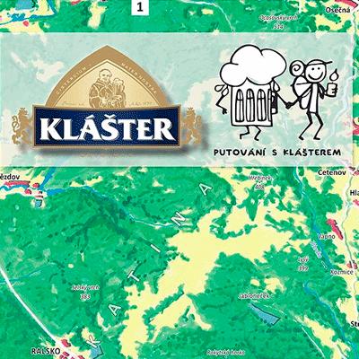 Orientační plán pro pivovar Klášter