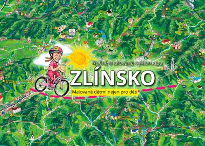 Připravujeme novou malovanou cyklomapu Zlínsko dětem